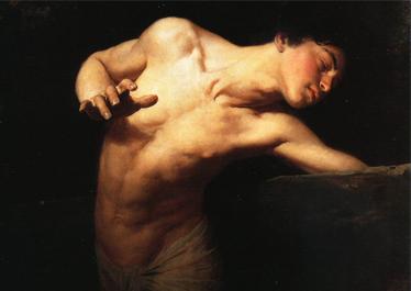 Narcissus | Gyula Benczur | 1881