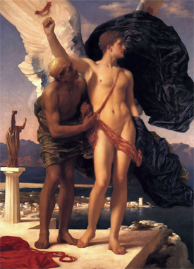 Leighton | Icarus and Daedalus | 1869