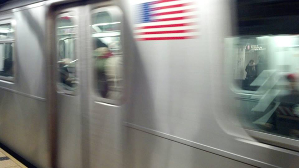 4 train at Grand Central 42nd Street